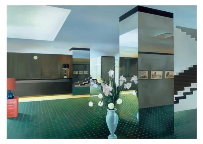 Lobby – Richard Hamilton (1984) selected by Peter Saville RDI