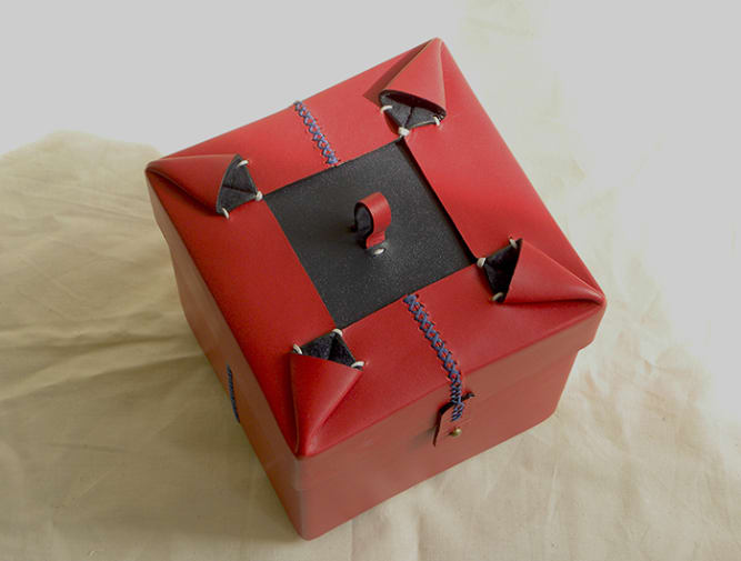 Carol Luu jewellery box for Bill Amberg project.