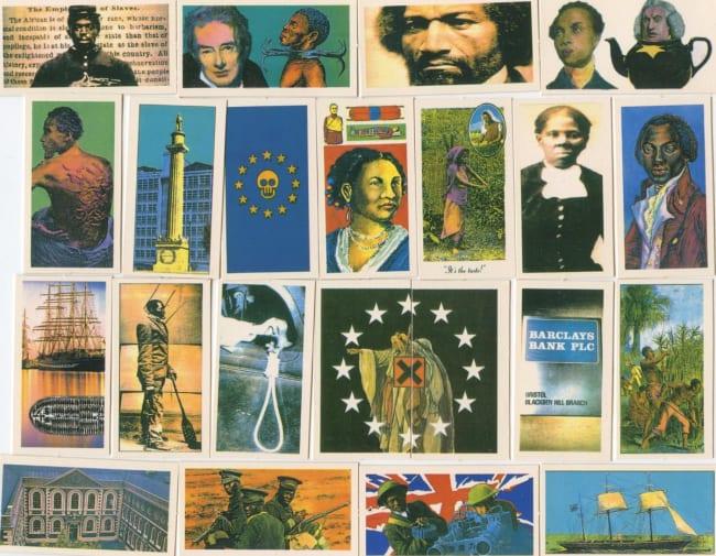 Artwork: Album of souvenir cards