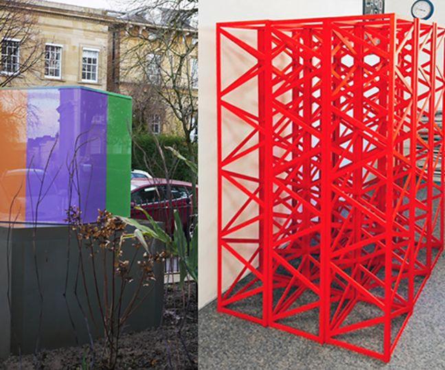 Rasheed Araeen, Peter Fillingham and Chelsea Space