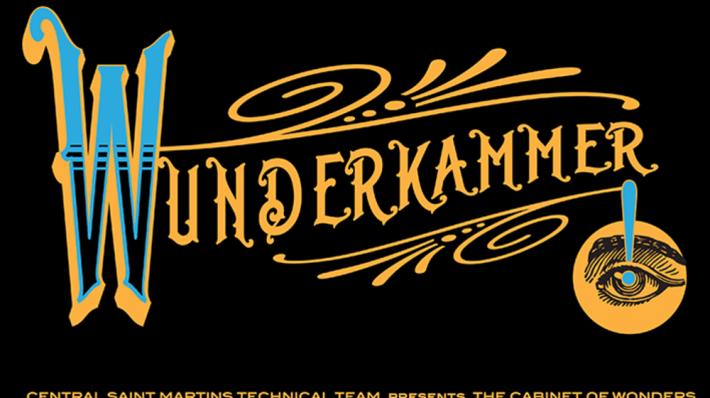Workshop Wunderkammer poster designed by Helen Ingham.