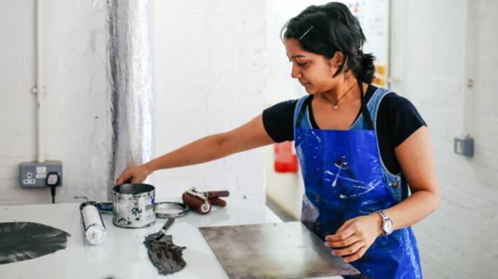 Khadija Chunawala, Foundation Diploma in Art & Design