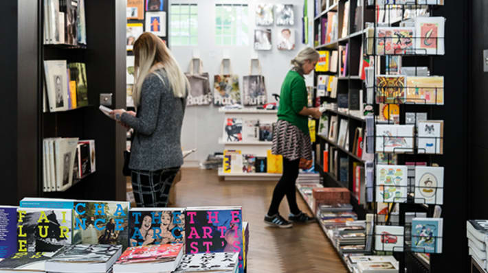 Women in bookshop
