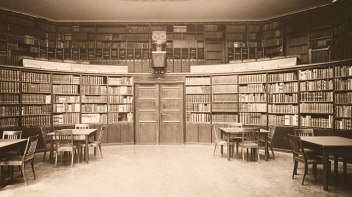 a reading room