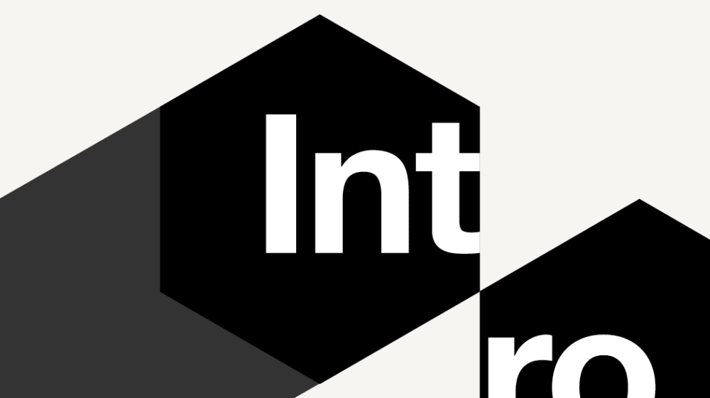 Black white logo