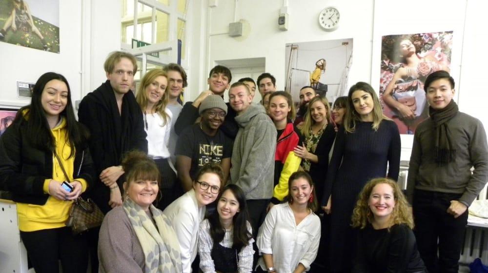Students visit Inditex