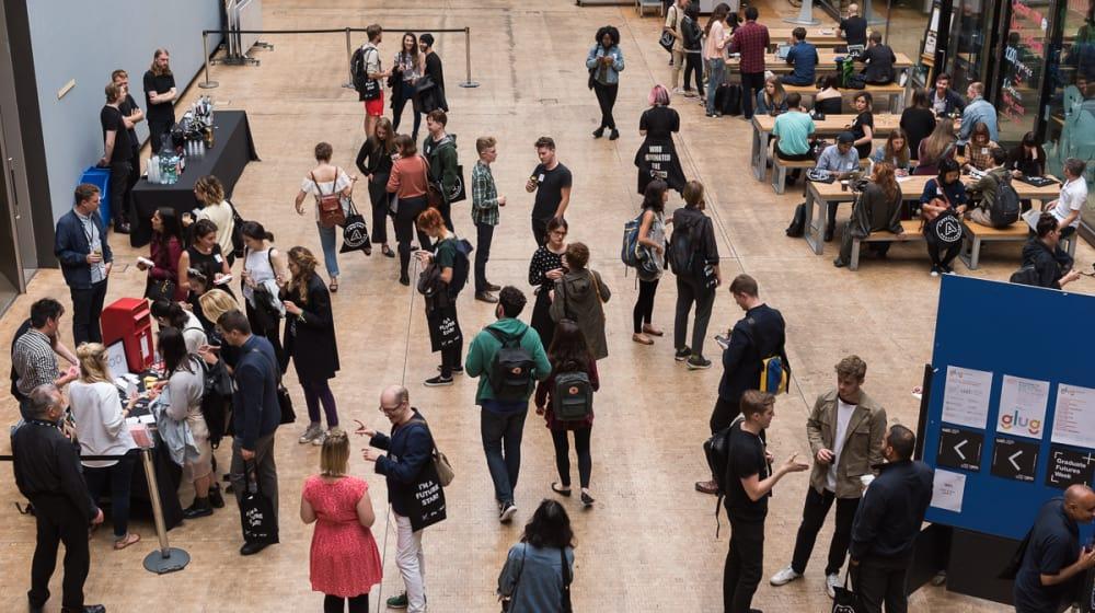 Students at Graduate Futures Week