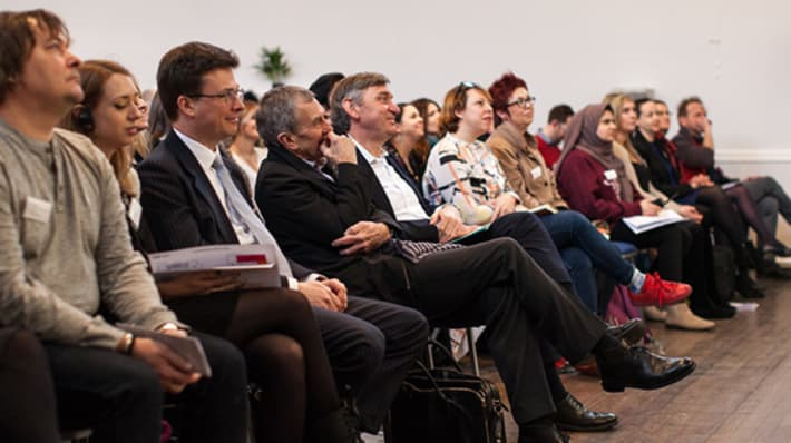 Delegates at the UAL Awarding Body conference