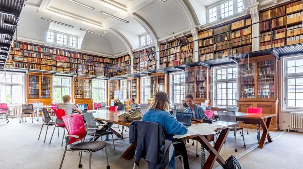Library Reading Room, John Islip Street