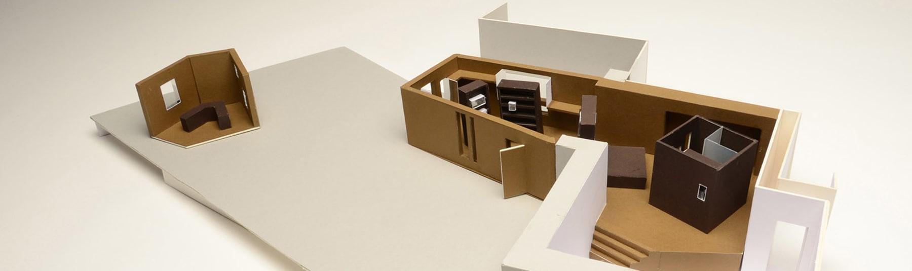 Architecture model by Victoria Lin.