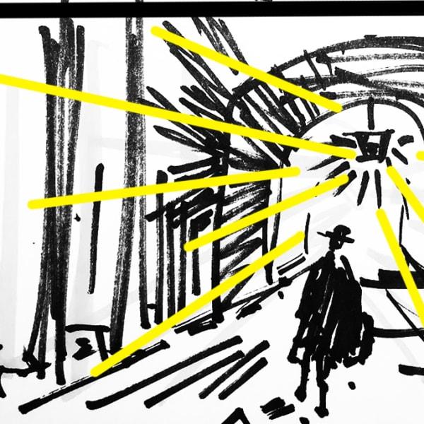 Thriller storyboard