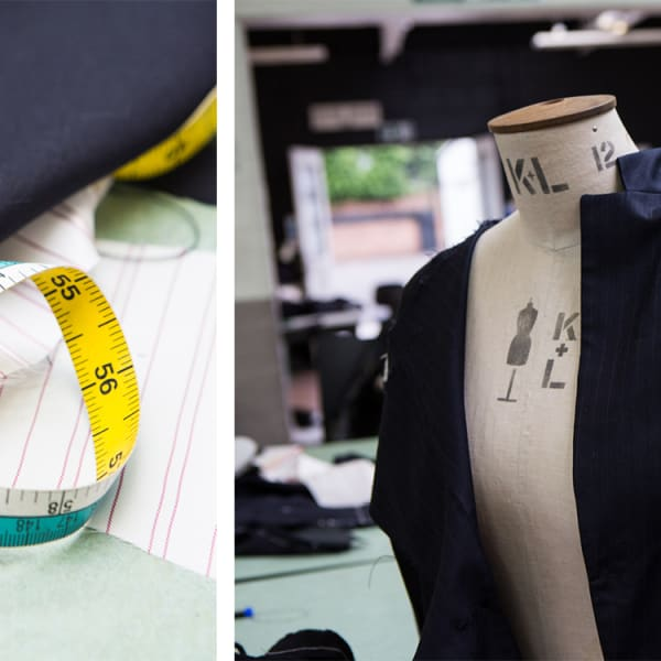 garment on mannequin