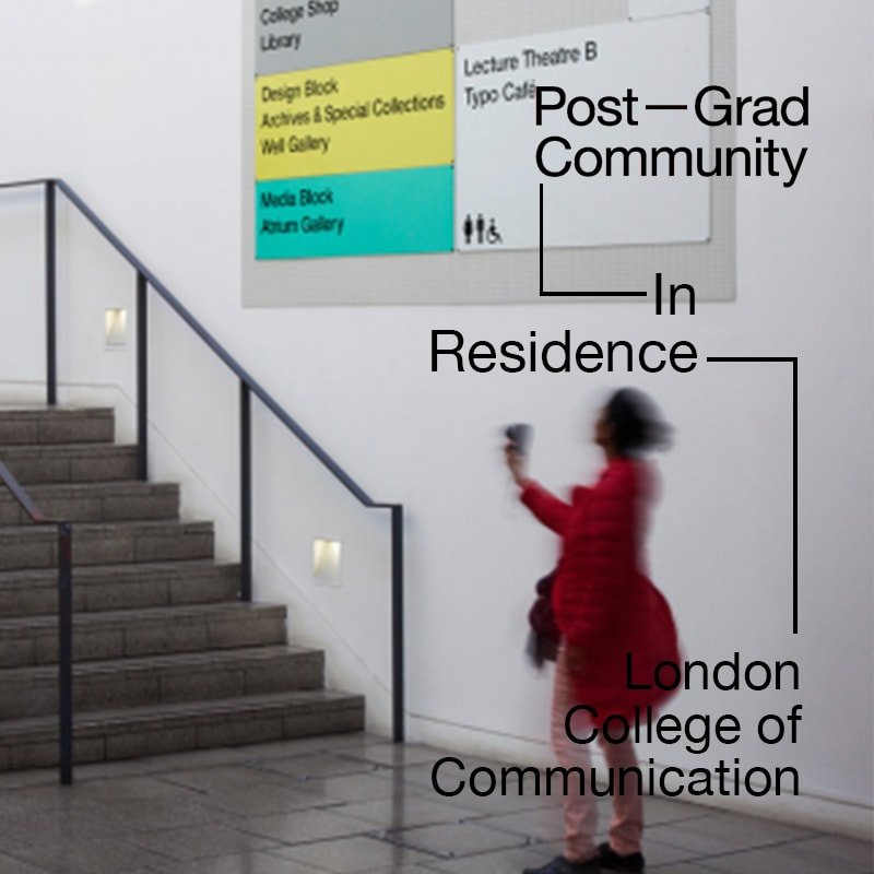 Post-Grad Community In Residence: London College of Communication