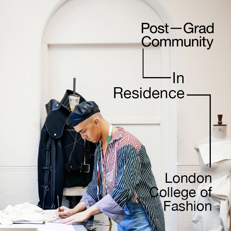 Post-Grad Community In Residence: London College of Fashion