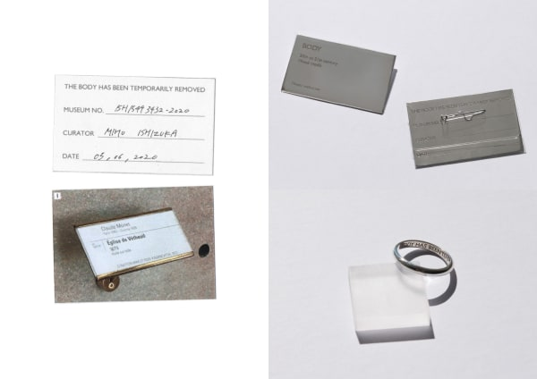 Miho Ishizuka, BA Jewellery Design<br>The Body is Temporarily Removed, 2020