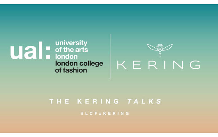 Flyer for The Kering Talks with London College of Fashion
