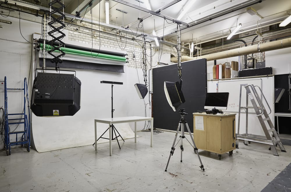 Camberwell photography studio.