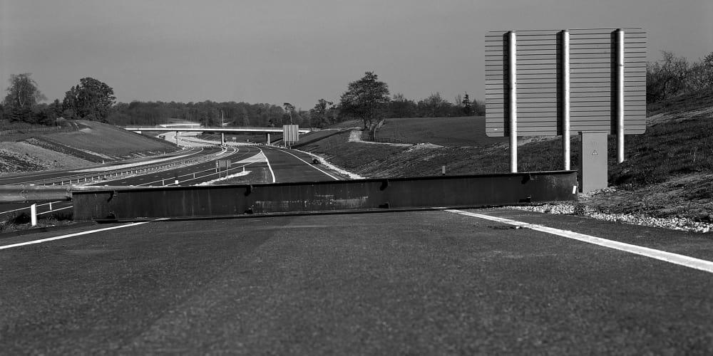 Photo of motorway by David Cross.