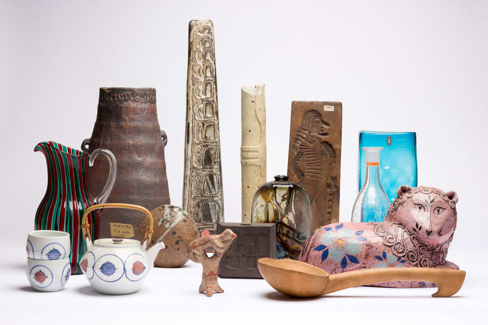 Objects from the Camberwell Collection.