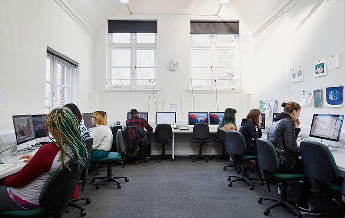 Foundation digital media facilities.