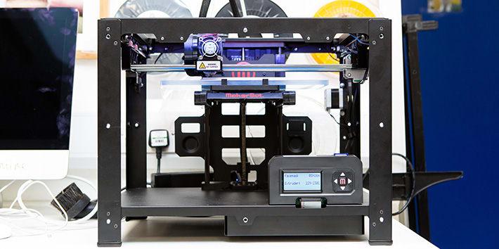 The 3D Printer.