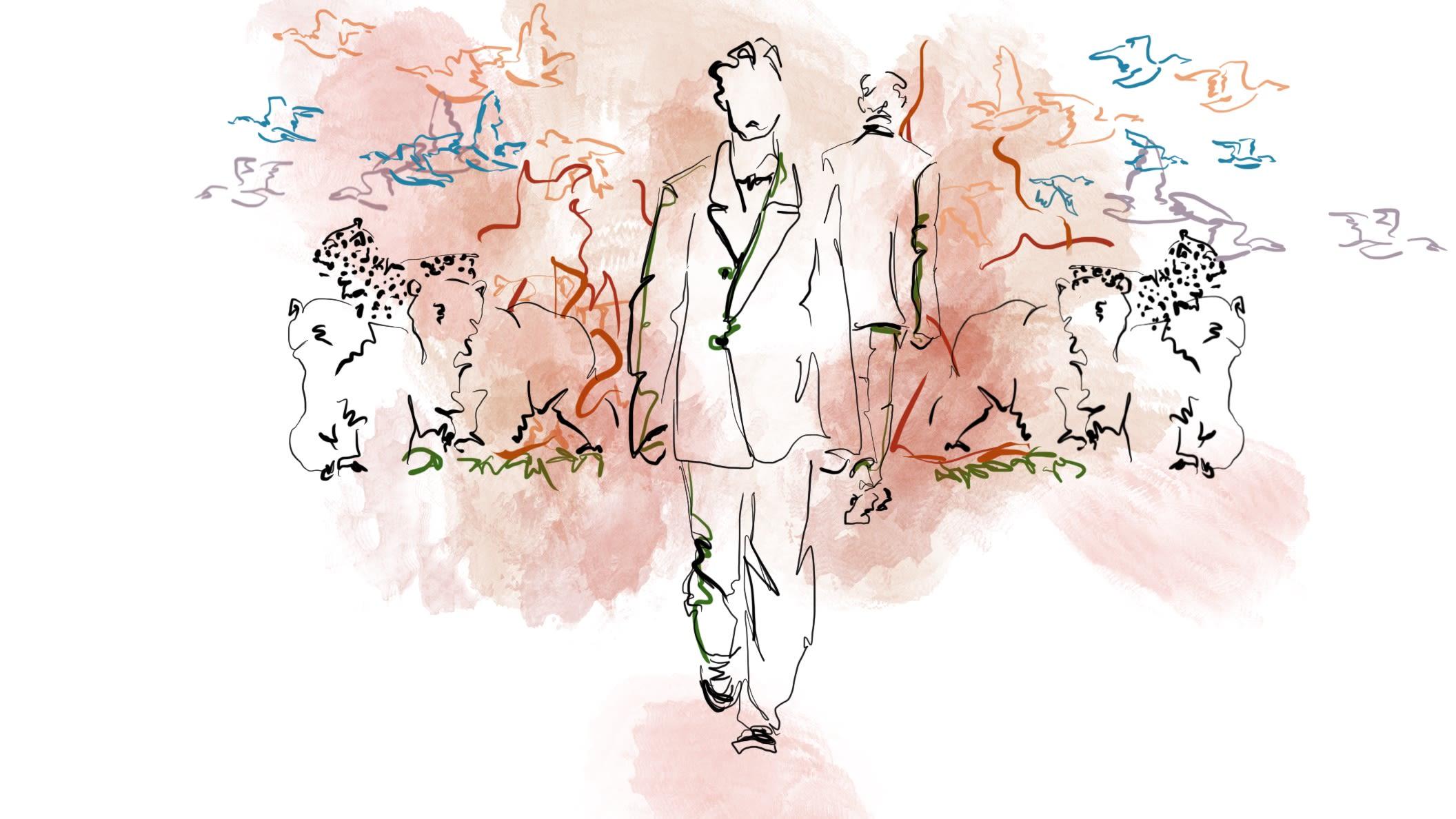Colourful Fashion Illustration