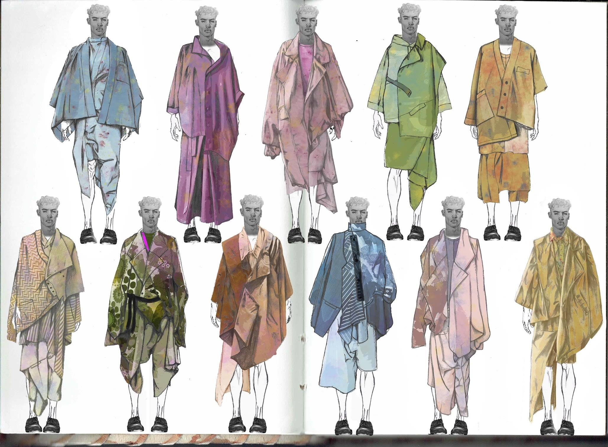 Fashion Illustrations from Alice Simpson