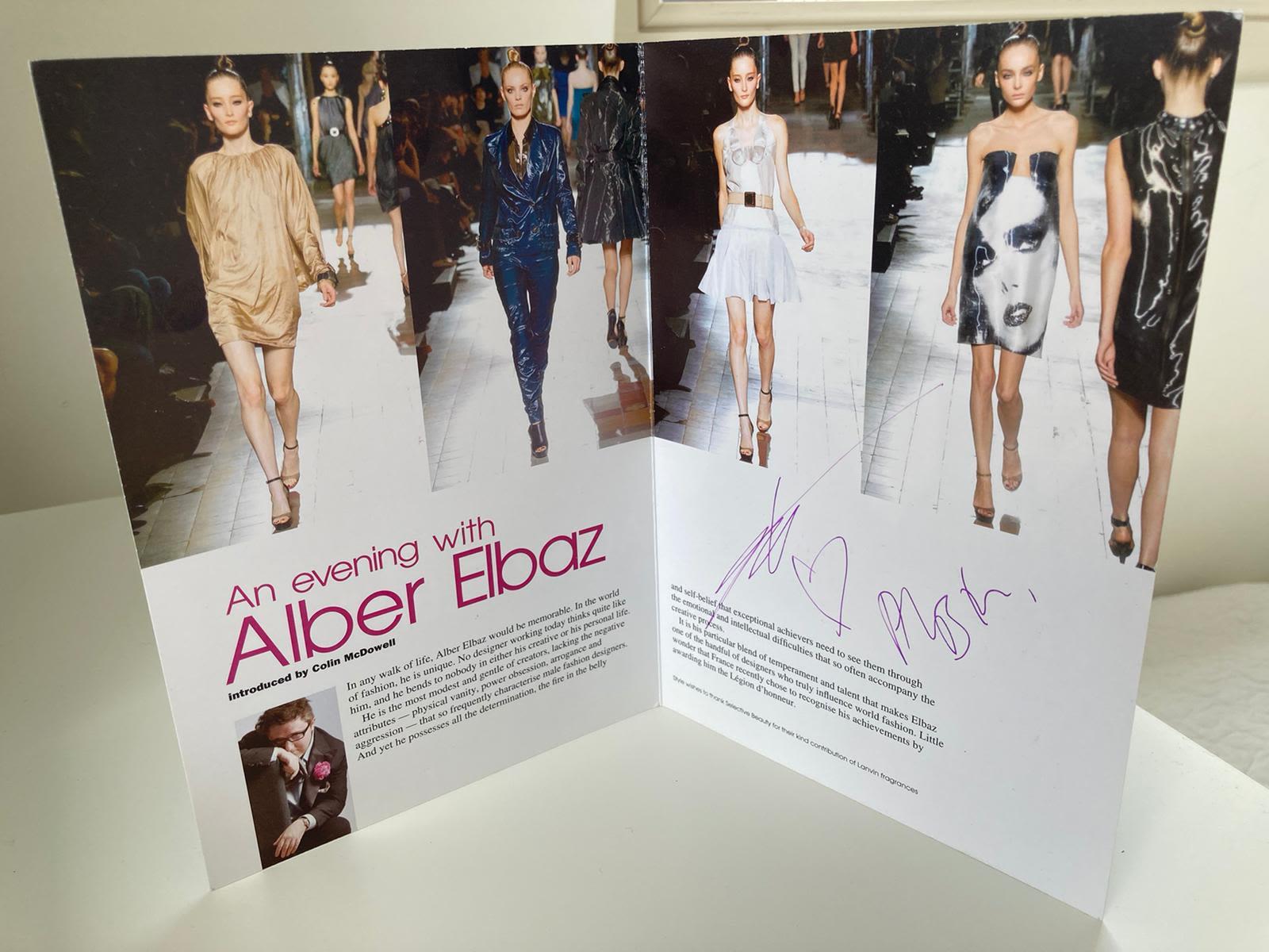 Alber Elbaz Magazine
