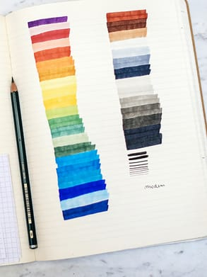Sketchbook by Marion Bisserier