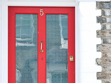 House door.