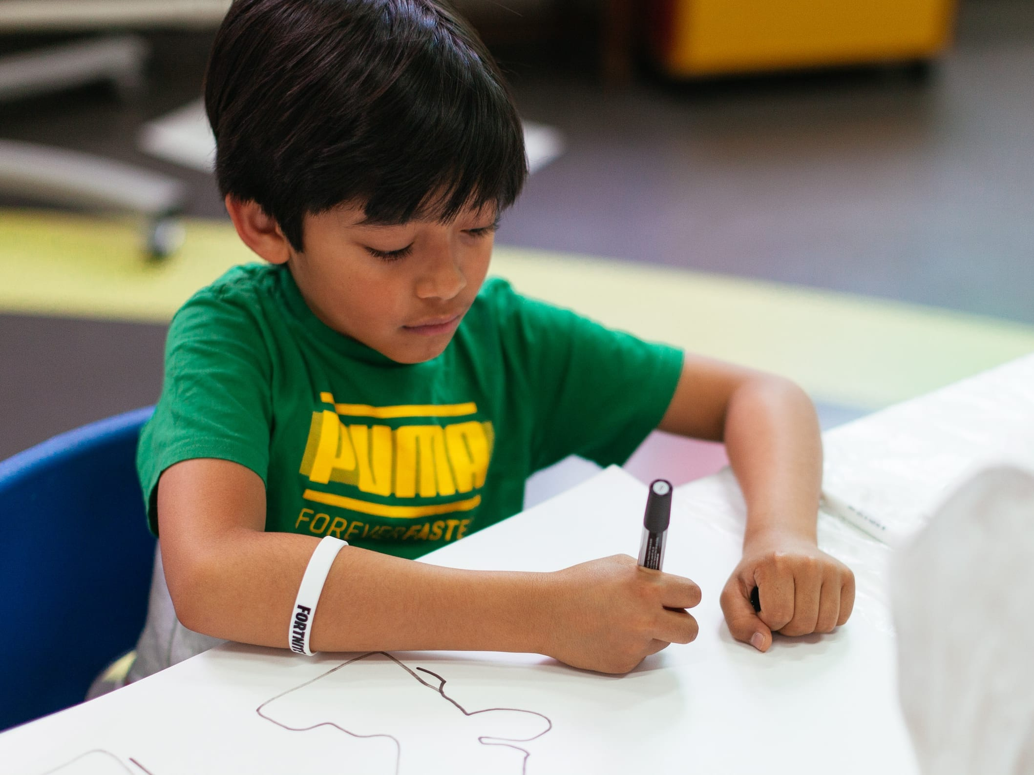 Online art classes for 7-11 year olds