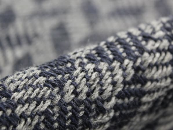 Close up image of a fabric