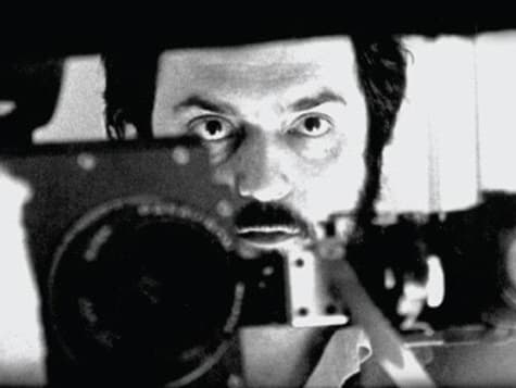 Stanley Kubrick during filming of 2001: A Space Odyssey