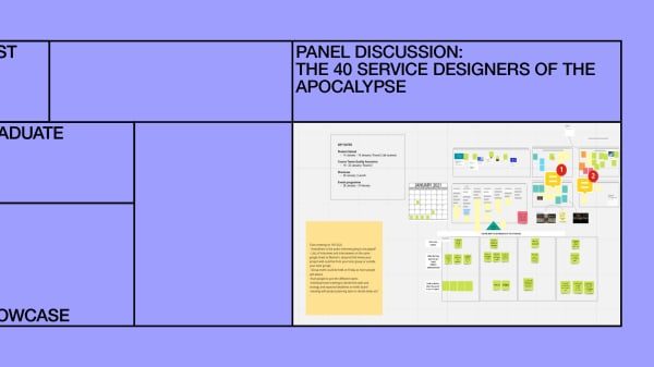 Panel Discussion: The 40 Service Designers of the Apocalypse