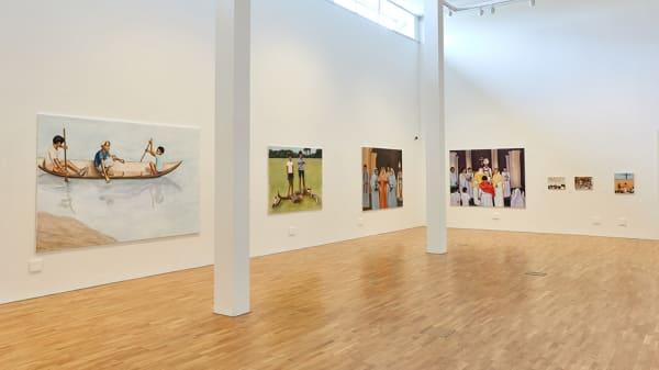 In conversation: Allison Katz, Matthew Krishanu & BA Fine Art Painting students