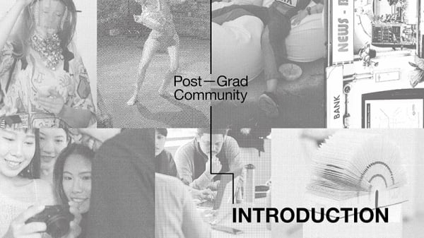 The Big Welcome: Introduction to Post-Grad Community 2020