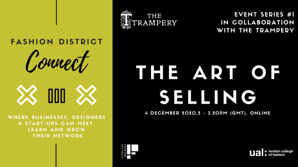 Fashion District Connect with The Trampery: The Art of Selling