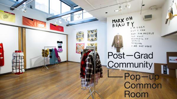 Pop Up Common Room: Comme de Marxists: A Manifesto