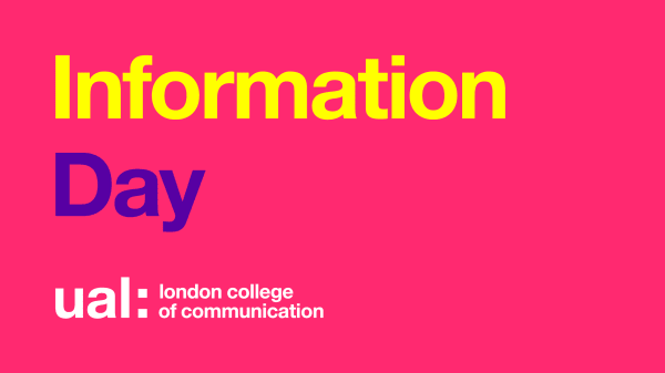 LCC Portfolio Advice Session: Photography, Documentary Photography and Photojournalism