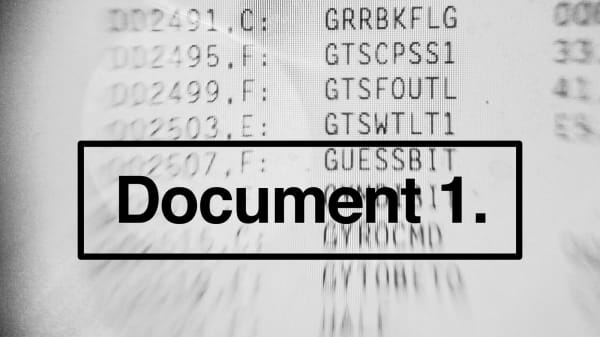 CCI invite the public to take part in 'Document 1'