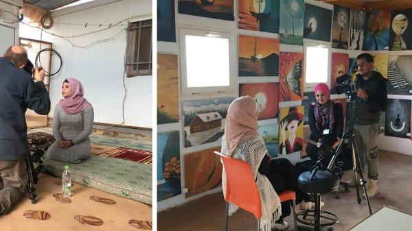 UNHCR Designer in Residence: The vision for 2020 in Zaatari refugee camp with Professor Helen Storey