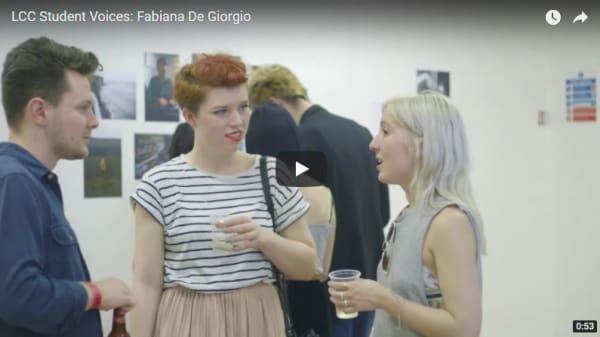 Student Voices: Fabiana De Giorgio – BA (Hons) Journalism
