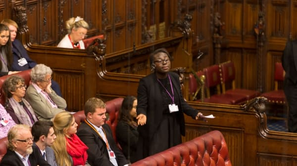 LCC BA (Hons) Public Relations students take part in House of Lords debate
