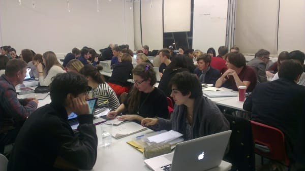 Design for Graphic Communication students go speed-dating with industry