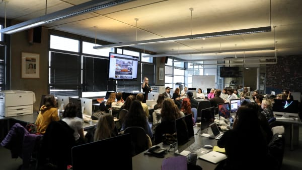 BA (Hons) Journalism students welcome national publications to provide industry advice