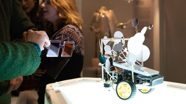 MA Interaction Design Communication students share perspectives on humanity and machines at V&A Friday Late