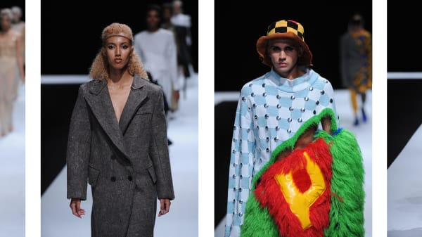 LCF19: BA Fashion Textiles, Pattern Cutting and Bespoke Tailoring Catwalk Show Recap