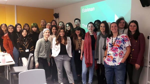 Edelman London brings latest industry insights to MA Public Relations students