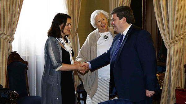 International Parnterships and Development visit Bilbao