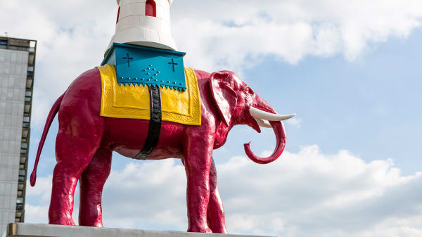 LCC taking part in Creative Elephant, showing off hidden cultural gems in Elephant and Castle